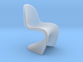 1/12 Doll House Chair Version 1 in Smooth Fine Detail Plastic