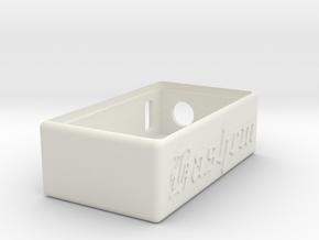 Talymod V1 Hashem Box in White Natural Versatile Plastic
