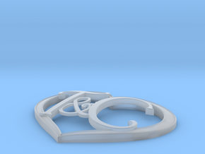 T&C Heart Right Size in Smooth Fine Detail Plastic