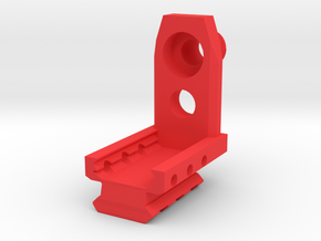 Combat Zone Enforcer Muzzle Adapter in Red Strong & Flexible Polished