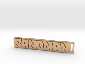 Holden - Panel Van - Sandman Key Ring in Polished Bronze