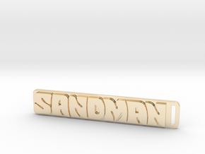 Holden - Panel Van - Sandman Key Ring in 14k Gold Plated Brass