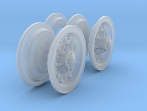 1-25 Chevy LRDG Rims FUD Set4 in Smooth Fine Detail Plastic