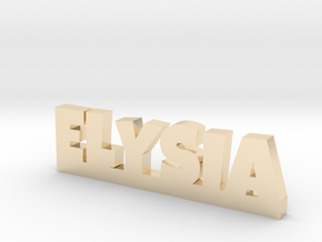 ELYSIA Lucky in 14k Gold Plated Brass