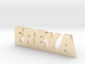 FREYA Lucky in 14k Gold Plated Brass