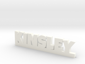 KINSLEY Lucky in White Strong & Flexible Polished