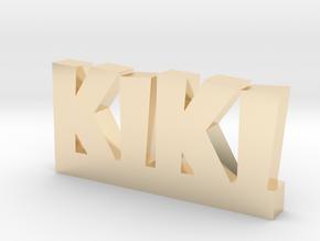 KIKI Lucky in 14k Gold Plated Brass
