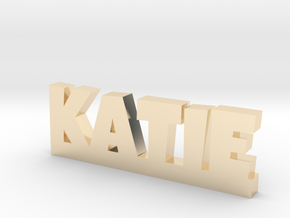 KATIE Lucky in 14k Gold Plated Brass