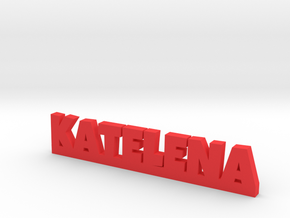 KATELENA Lucky in Red Processed Versatile Plastic
