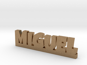 MIGUEL Lucky in Natural Brass