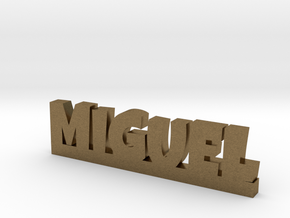 MIGUEL Lucky in Natural Bronze