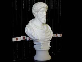 Marcus Aurelius 6 inches in White Natural Versatile Plastic: Medium