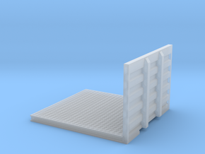 1/50th Drom Headache Rack Deck for Semi Tractor in Smooth Fine Detail Plastic