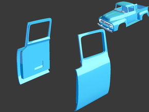 1956 Ford Pickup Doors 1/8 in White Strong & Flexible