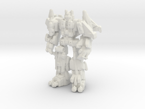 Superion (CW), Broadside Scaled in White Strong & Flexible
