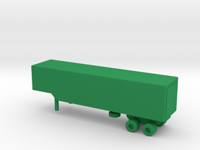 1/200 Scale M971 Trailer in Green Processed Versatile Plastic