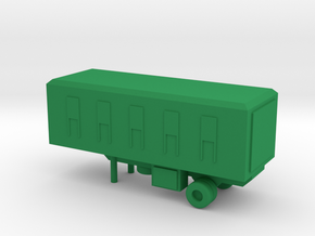 1/200 Scale M146 Trailer in Green Strong & Flexible Polished