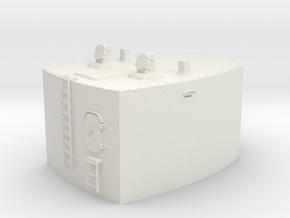 1/32 Germany Cabin 10.5m Rangefinder w. Mast in White Natural Versatile Plastic
