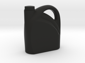 Oil Can - 1/10 in Black Natural Versatile Plastic
