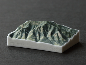 Flatirons, Colorado, USA, 1:50000 in Full Color Sandstone