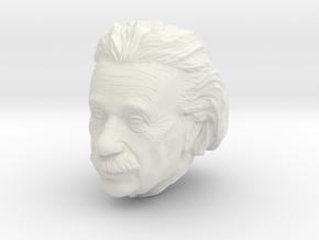 Einstein Lanyard Bead Various Sizes in White Natural Versatile Plastic: Small
