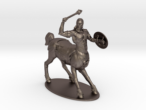Centaur Miniature in Polished Bronzed Silver Steel: 1:60.96