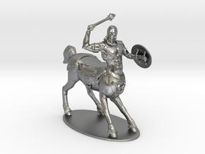 Centaur Miniature in Natural Silver: 1:60.96