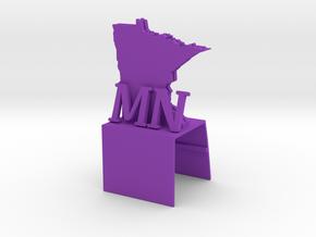iMac Cam Cover - MN in Purple Processed Versatile Plastic