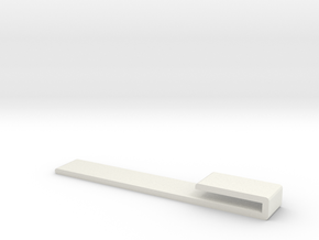 Ideal Bookmark in White Natural Versatile Plastic