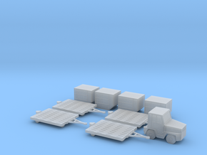 1:144 Air Cargo Set in Smooth Fine Detail Plastic