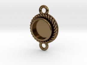 "Pendant ""Robin"" in Polished Bronze"