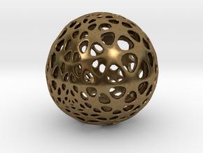 Amoeball in Natural Bronze