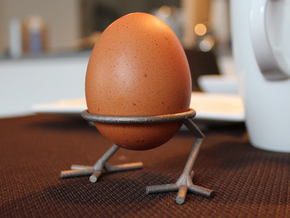 Chick Eggcup in Stainless Steel
