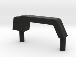 Door handle D90 1:18 Gelande 4/4 in Black Natural Versatile Plastic