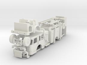 1/64 2016 Philadelphia Spartan Engine in White Natural Versatile Plastic