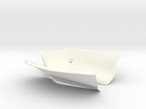 Lancia Delta Abdeckung Heckklappe Boot Plate Set 1 in White Processed Versatile Plastic