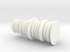 SoundVase in White Strong & Flexible Polished: Medium