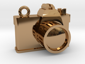 Camera in Polished Brass