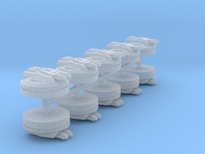 Ion Turrets (armada) in Smoothest Fine Detail Plastic