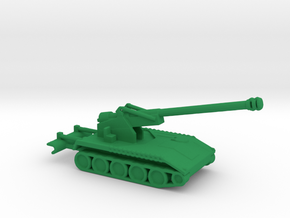 1/200 Scale M110A2 8 Inch Howitzer in Green Strong & Flexible Polished
