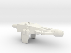 Shrapnel's Grenade Launcher, 5mm in White Strong & Flexible