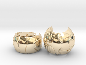 Harry's First Snitch Ring Box-Pt.1-Body-Cust. Text in 14K Yellow Gold