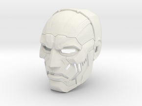 Dr Doom helmet Fantastic Four: Rise of the Silver  in White Natural Versatile Plastic