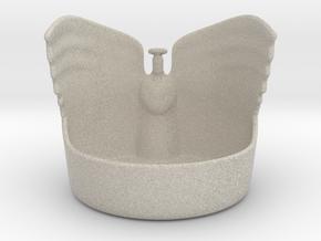 Angel Candleholder in Sandstone