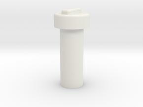 Kill Key 5 in White Natural Versatile Plastic