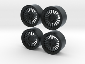 """Rotiform Ind 19"""" 1/24 Pack With Fujimi spindle in Black Hi-Def Acrylate"""