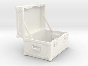 BACK FUTURE 1/8 EAGLEMOS PLUTONIUM BOX OPEN EMPTY  in White Processed Versatile Plastic