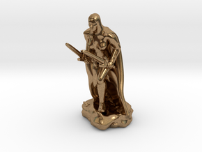 Female Human Rogue in Natural Brass