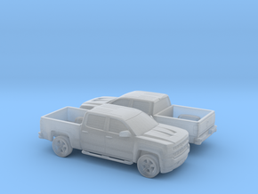 1/160 2X 2016 Chevrolet Silverado in Frosted Ultra Detail