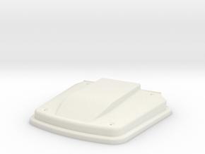 STL-MOLD 1-20-Specter Hood-ver3 in White Natural Versatile Plastic